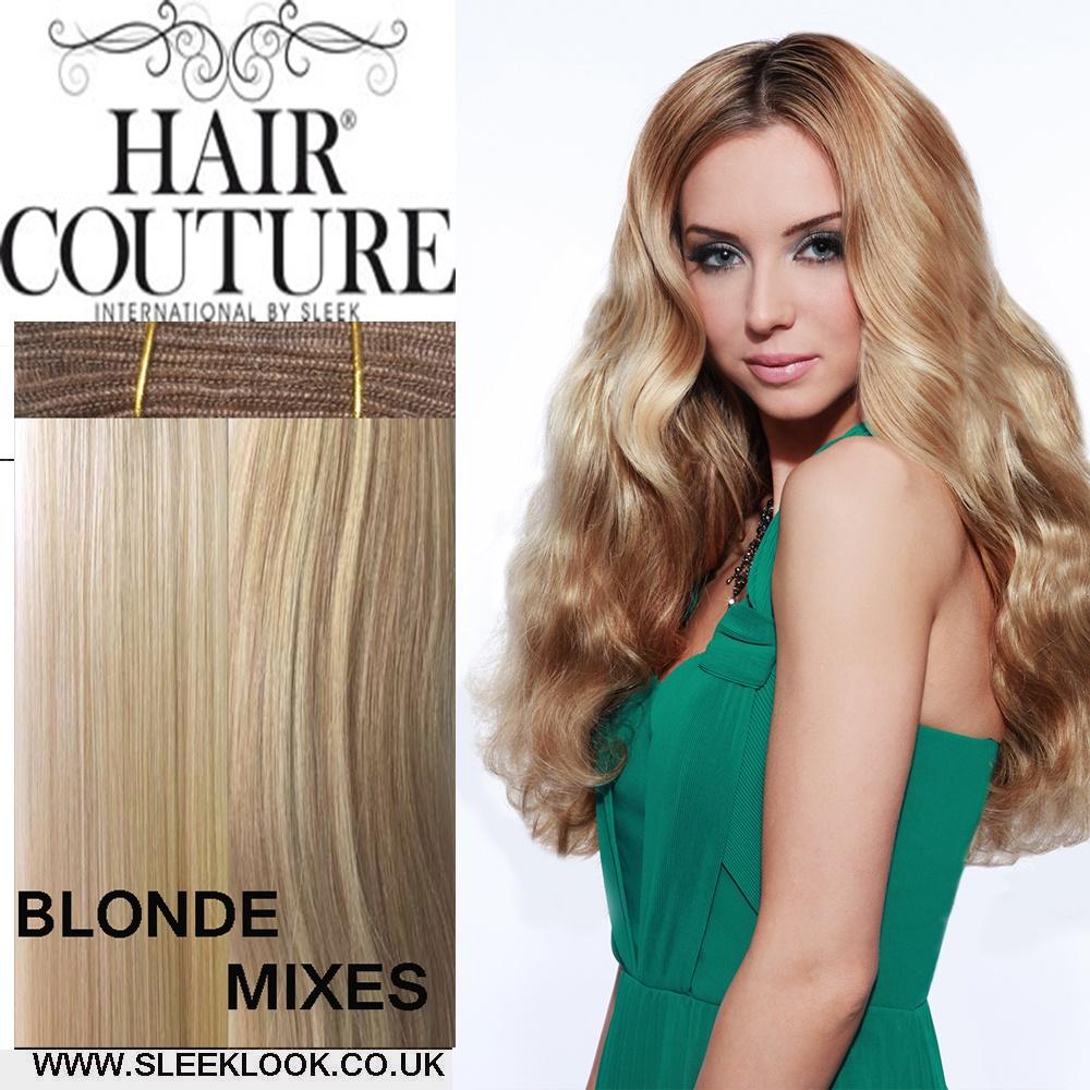 Sleek Hair Couture Remy Gold Triple Weft Sleeklook