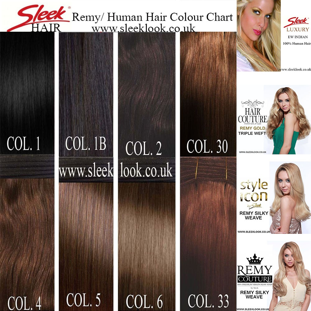 Sleek Hair Couture Triple Weft Remy Gold Silky Straight