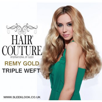 HAIR COUTURE REMY GOLD TRIPLE WEFT BY SLEEK HAIR COUTURE REMY GOLD ALL LENGTH