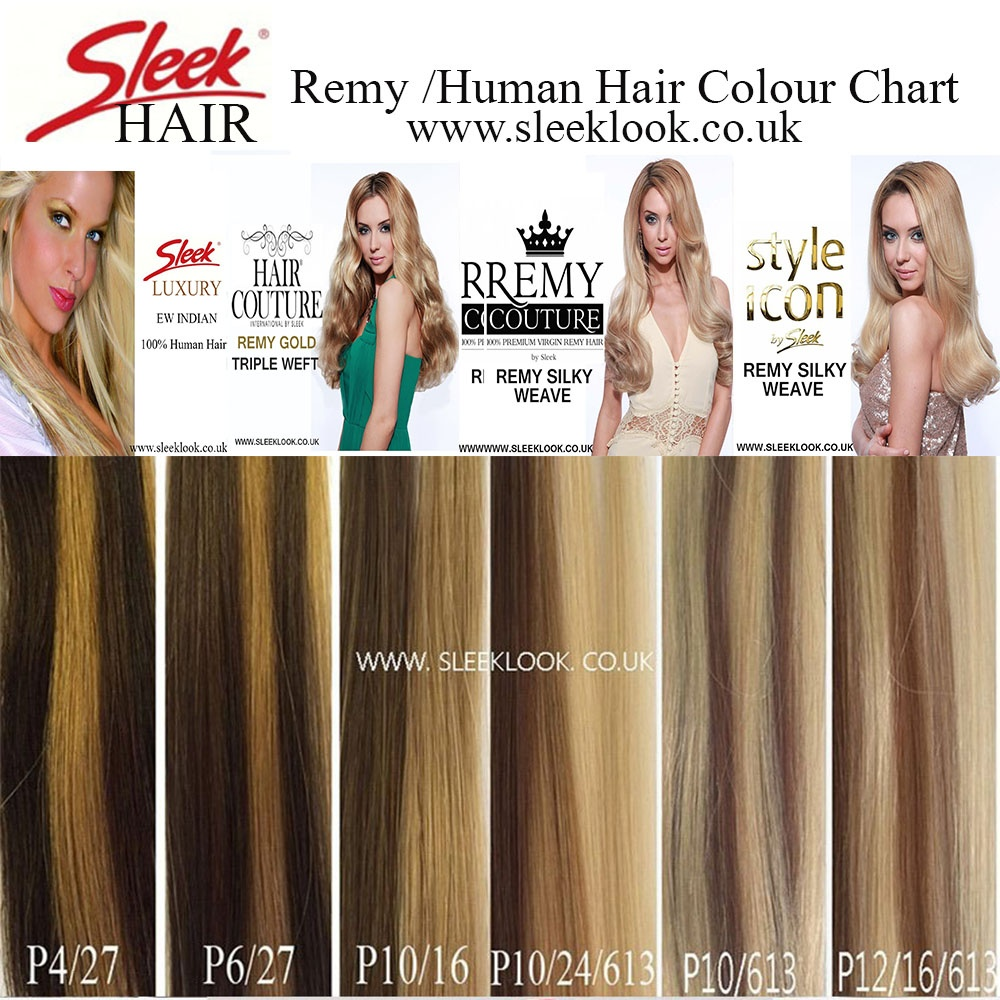 Sleek Remy Couture Hair Extensions Sleek Remy Human Hair