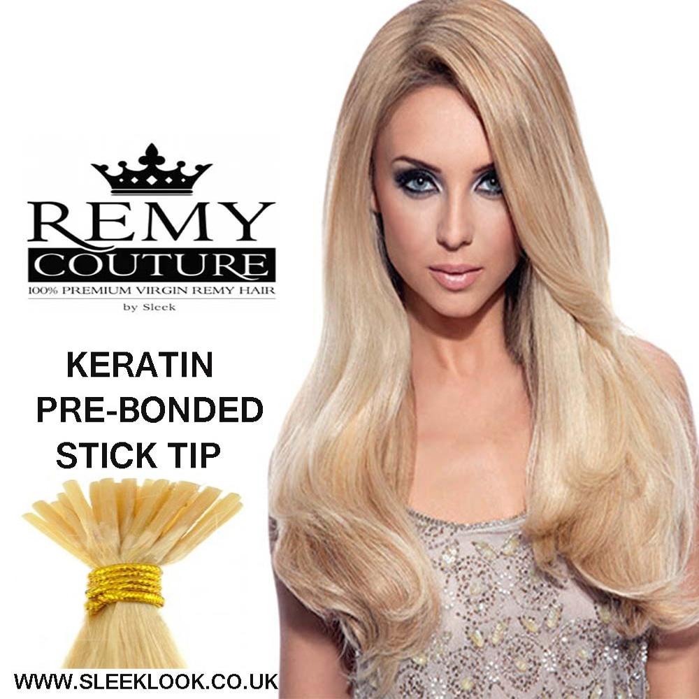 Pre Bonded Remy Hair Extensionsonline Uksleeklook