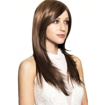 SLEEK HAIR COUTURE WIG RAINBOW MONO WIG