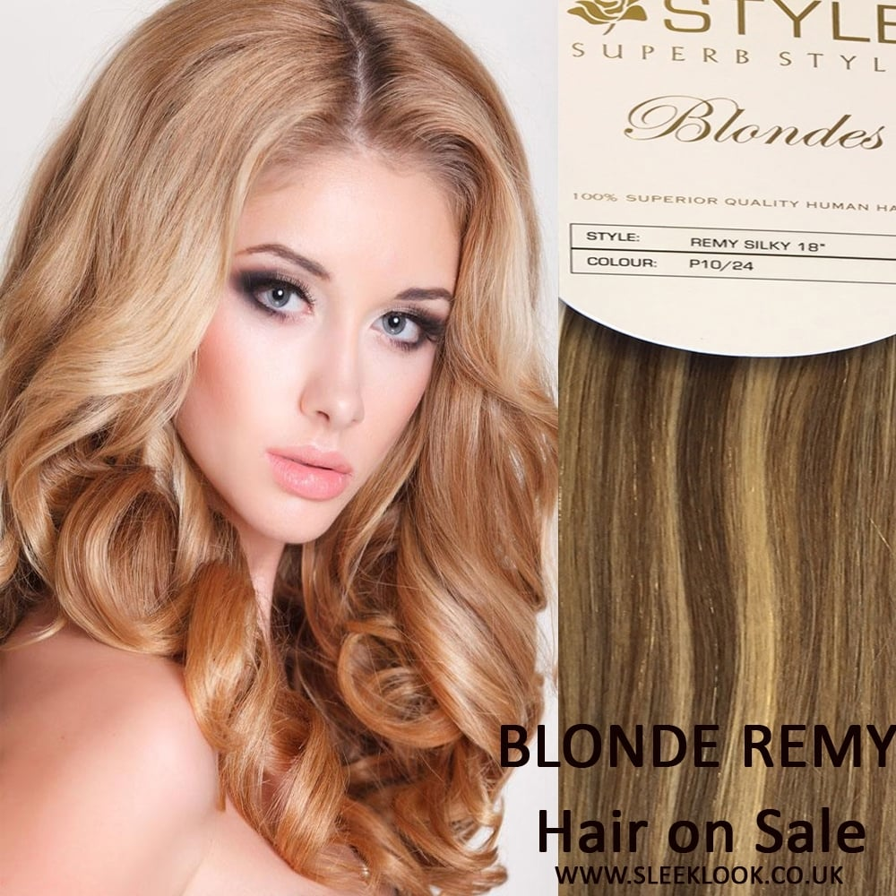 On Sale Blonde Remy Hair Extensions Ukstyle Remy Blonde On Sale Uk